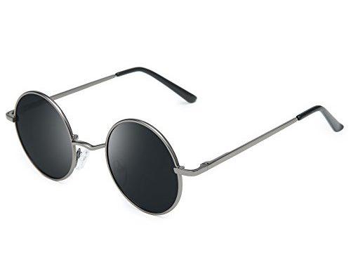 109d31d0992 Joopin-Round Retro Polaroid Sunglasses Driving Polarized Glasses Men  Steampunk – SunglassFair
