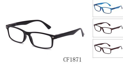 3ee00f79613 Newbee Fashion – Unisex Translucent Simple Design No Logo Clear Lens Glasses  Squared Fashion F..