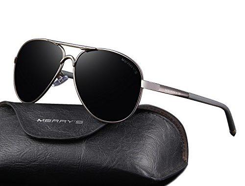 b8bbddd59cf MERRY S Men s Polarized Driving Sunglasses For Men Unbreakable Frame UV400  S8513 – SunglassFair